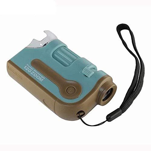 Wxxdlooa Pocket Vergrootglas 60X 120X Verstelbare Zoom Mini Draagbare Microscoop Vergrootglas Kind Student Observatie Loupe