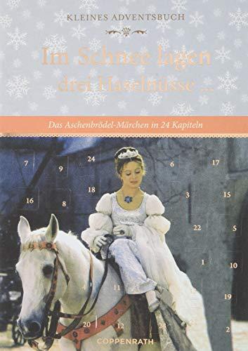 Kleines Adventsbuch - Im Schnee lagen drei Haselnüsse ...: Das Aschenbrödel-Märchen in 24 Kapiteln