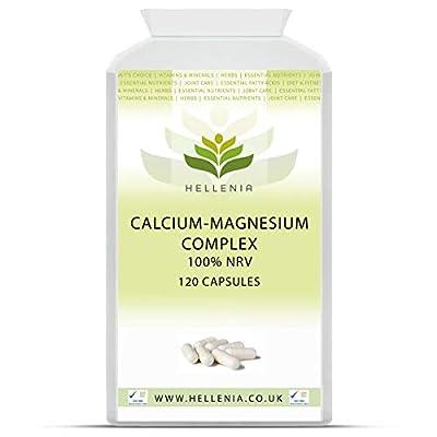 Calcium-Magnesium Complex - 180 Capsules (with Vitamin D) by Lifesource Supplements Ltd