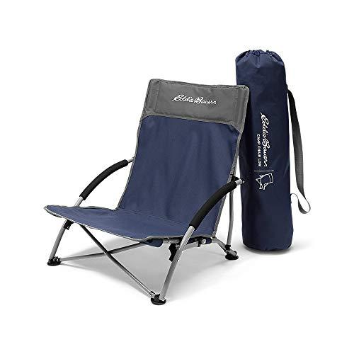 Eddie Bauer Unisex-Adult Camp Chair - Low, Med Indigo Regular ONE SIZE