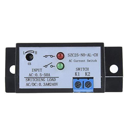 Interruptor de detección de corriente SZC25-NO-AL-CH Autoalimentación Interruptor de detección de corriente CA normalmente abierto ajustable CA 0.5-50A para subestaciones Dispositivos inversores
