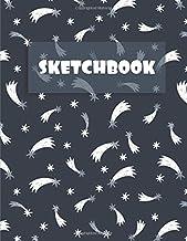 Sponsored Ad - Sketchbook: A Shooting Stars Sketchbook Journal for Girls and Boys: 120 pages, White paper, Dark Cover Sket...