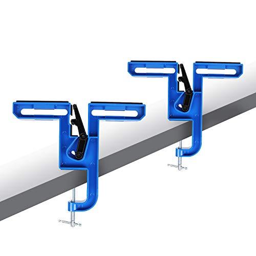 XCMAN All Metal Multifunktions-Schraubstock für Ski und Snowboard zum Tuning und Wachsen, verstellbarer Winkel, langlebig und stabil und Snowbaord Waxing Scraper