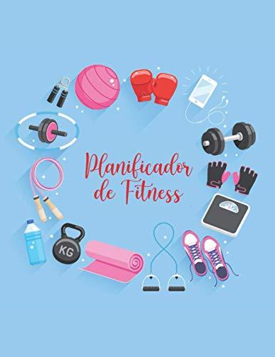 Planificador De Fitness: Diarios De Alimentos Para El Seguimiento De Comidas Y Ejercicio / Diario De Alimentos / Diario Y Planificador De Pérdida De Peso / Planificador De Ejercicios Para Mujeres