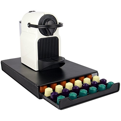 Nespresso 60 Pod Holder | Drawer Capsule Storage & Coffee Machine Stand | M&W