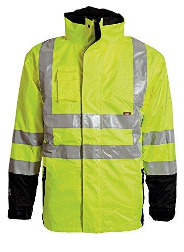 Elka Warnschutzjacke mit herausnehmbaren Futter XL Gelb/Schwarz