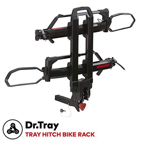 "YAKIMA - Dr.Tray Hitch Mount Tray Bike Rack, 2 Bike Capacity, 1-1/4"""