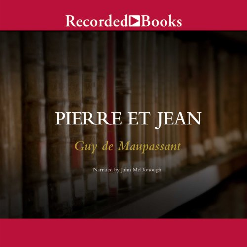 Pierre et Jean audiobook cover art