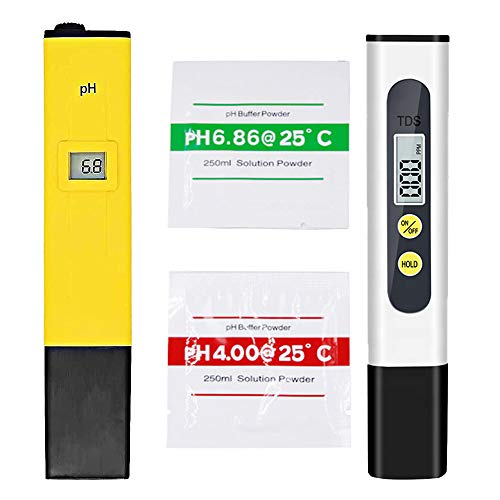 Shapure Ph & Tds Meter Combo with ±0.1Ph 0.6