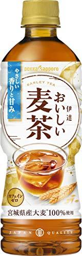 ポッカサッポロ 伊達おいしい麦茶 525ml×24本