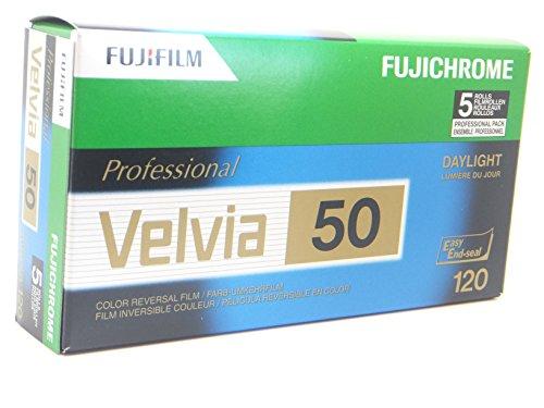 Fuji Velvia 50 120 5er Pack Dia-Film