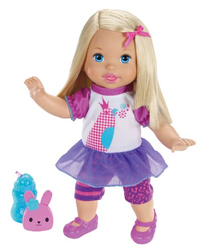 poupon interactif Little Mommy Talk with Me Repeating Doll by Little Mommy