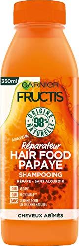 Garnier Fructis Hair Food Shampooing Réparateur Vegan à Papaye 350 ml C6341700