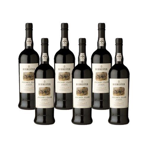 Vino de Oporto Burmester Jockey Club Reserva - Vino Fortificado- 6 Botellas