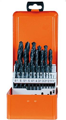Projahn Spiralbohrer Kassette PROSTAR (25-teilig, leistungsstarke Standardbohrer, hohe Rundlaufgenauigkeit, Bruchsicherheit, je 1 Ø 1 – 13 mm um 0,5 steigend) 60007
