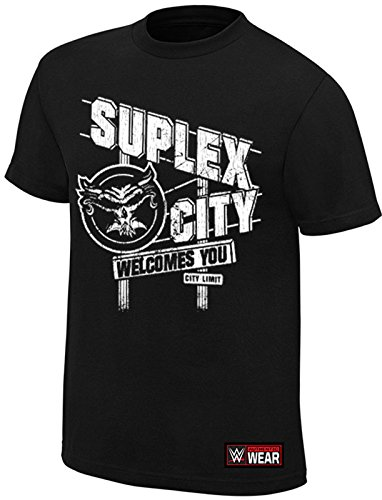Brock Lesnar WWE Suplex City Welcomes You Official Authentic T-Shirt