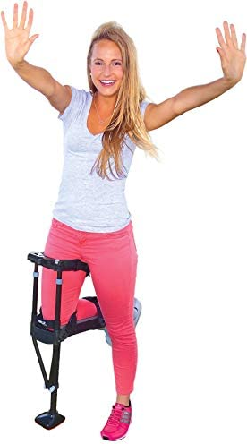 iWALK 2.0 Hands Free Crutch - Pain Free Knee Crutch - Alternative to Crutches and Knee Scooters