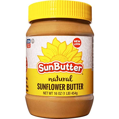Sunbutter B41295 Sunbutter Natural Sunflower Seed Spread  16oz