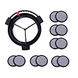 Replacement Coffee Maker Water Filtration Set Filter Disk with Frame for Mr. Coffee Brewers Coffee...