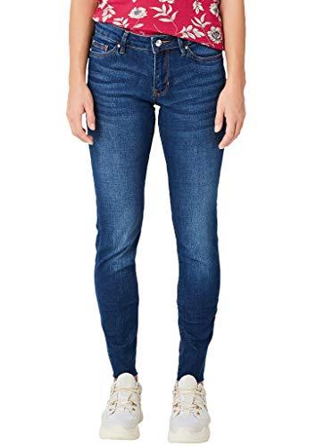 s.Oliver Damen Skinny Jeans, Blau (Blue Denim Stretch 57Z6), 40W / 28L
