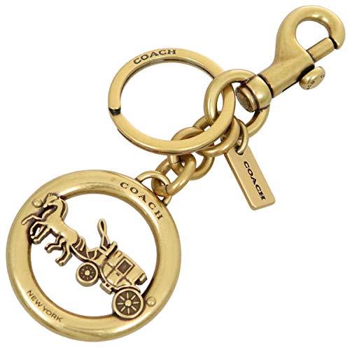[コーチ] COACH アクセサリー(キーホルダー) F32227 ゴールド ホース アンド キャリッジ ペンダント バッグ チャーム レディース [アウトレット品] [ブランド] [並行輸入品]