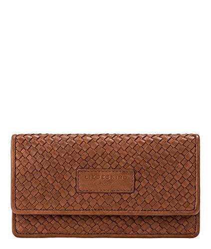Liebeskind Berlin Damen Santa Fe - Slam Wallet Large Geldbörse, Braun (Medium Brown), 2x10x19 cm