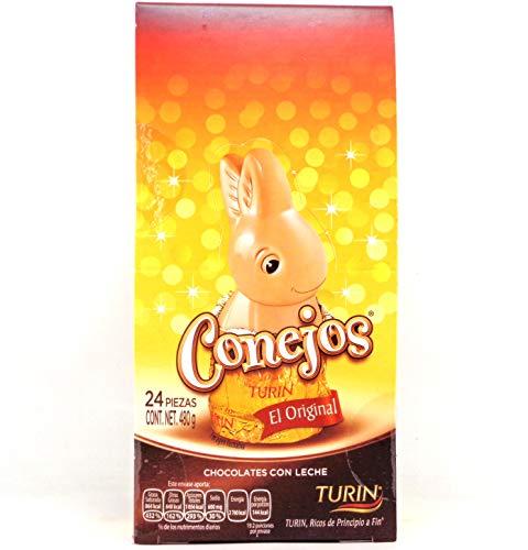 chocolates turin precios fabricante CONEJITOS DE CHOCOLATE