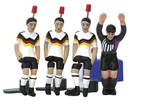 Bavaria Home Style Collection- TIPP-Kick TIPPKICK WM Classics Weltmeister Deutschland 1990 - Die legendären Weltmeister von 1990 im gleichen Dress als Kicker, Top-Kicker und Star-Kicker Plus