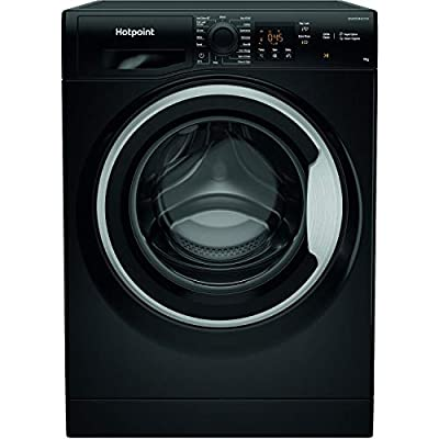 Hotpoint NSWM963CBSUKN 9kg 1600rpm Freestanding Washing Machine - Black