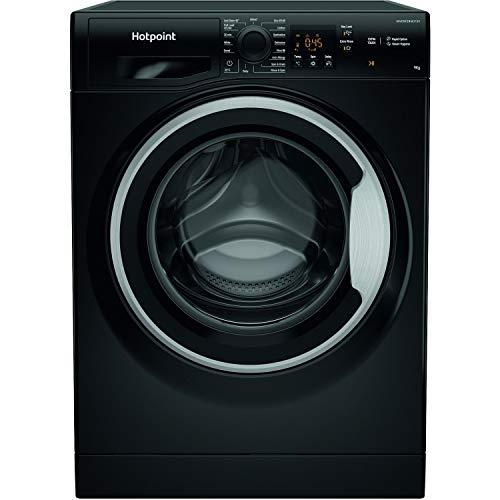 Hotpoint 9kg 1600rpm Freestanding Washing Machine - Black