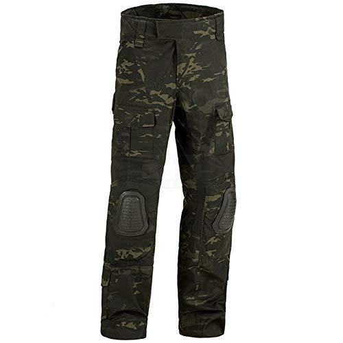 Invader Gear LWC Softair Torino Camouflage Predator Combat Multicam Black Größe XL Hose und Combat Shirt