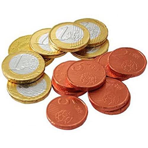 "Filets de ""Pièces Euros"" en Chocolat"