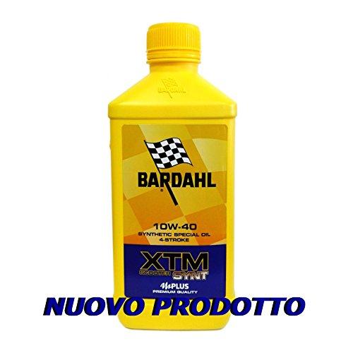 Olio motore moto Bardahl XTM Synt 10W40 4T - 1 Litro