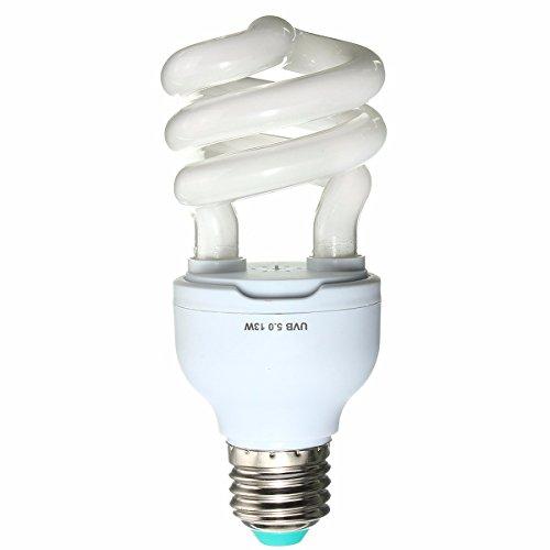 Masunn 5,0 10,0 UVB 13W E27 PET reptiele licht gloeilampen lamp voor Vivarium Terrarium Tortoise AC220V
