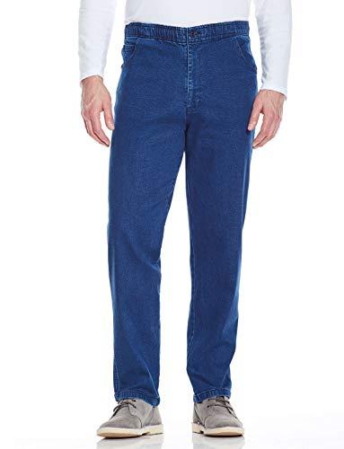 Chums Pantalones Vaqueros Elásticos para Hombre Azul 48W / 27L