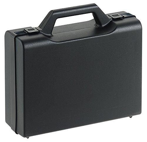 Kunststoffkoffer leer in schwarz, Außenmaß: 240x180x75 mm