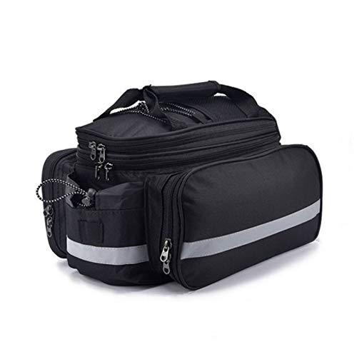 Bolsa de bicicleta impermeable y gran capacidad bicicleta llevar bolsa para fitness senderismo camping