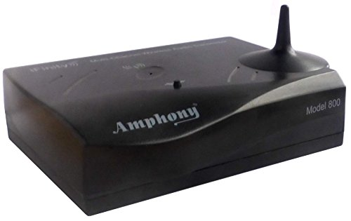 Multichannel Wireless Audio Transmitter for Making Surround Speakers Wireless - Model 800, Transmits 4 Audio Channels, 300' Range, Connects to Any Audio Source, Better-Than Bluetooth Digital Wireless