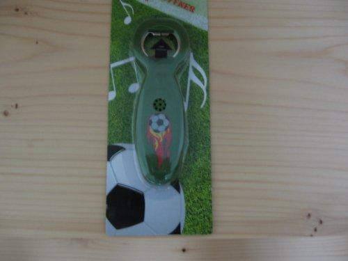 Fußball-Flaschenöffner mit 3 verschiedenen Sounds