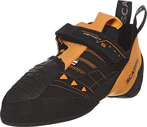 Scarpa Men's Instinct VS Climbing Shoe,Black,41 EU/8 M US