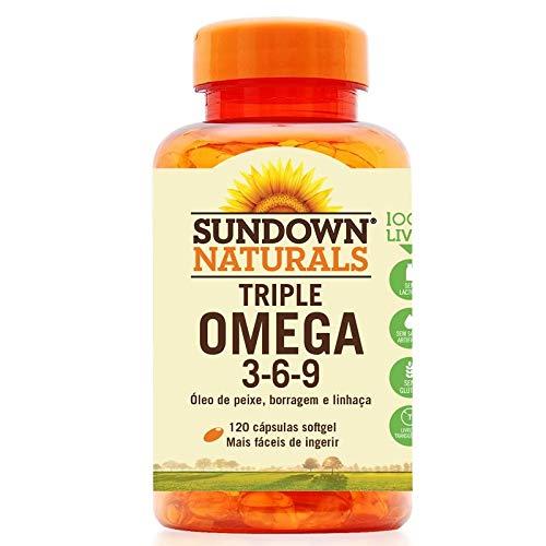 Triple Ômega 3-6-9 Sundown 120 cápsulas