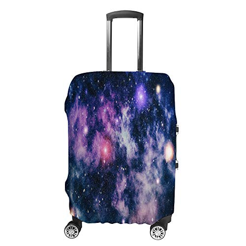 Luggage Cover Travel Anti-Scratch Suitcase Cover Baggage Protector Case Deep Space Dark Fit Washable Accessories Dustproof M