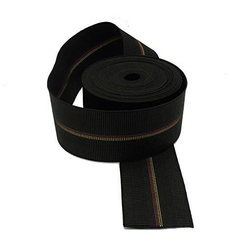 Gurtband Polster Elastische, 12 Meter Qualität Extra aus Gummi, Breite aus 80 MM