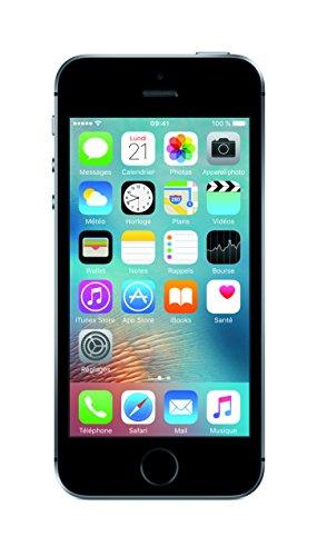"Apple iPhone SE Single SIM 4G 32GB Grey smartphone - smartphones (10.2 cm (4""), 640 x 1136 pixels, Flat, IPS, 800:1, Multi-touch)"