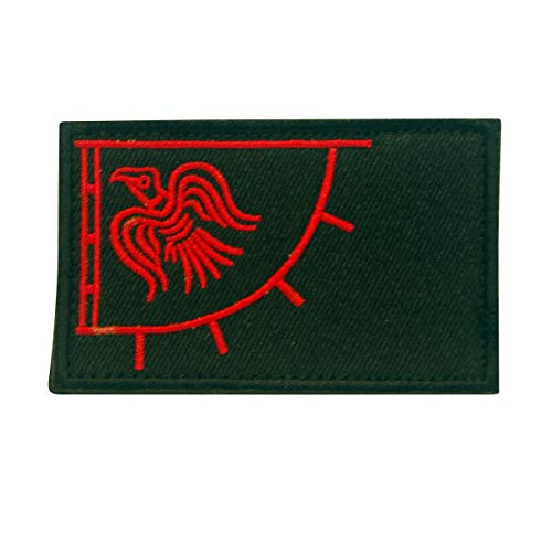 COBRA Tactical Solutions Odin's Raven Viking God of War Military Besticktes Patch mit Klettverschluss für Airsoft Cosplay Paintball für Taktische Kleidung Rucksack
