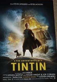 original tintin posters