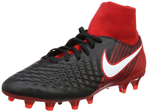 Nike Herren Magista ONDA II DF FG 917787 061 Fußballschuhe, Mehrfarbig (Noir/Rouge...