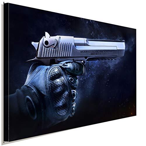 AK ART CS GO Counter Strike Deagle - Lienzo Decorativo, Lona, 80 x 60 cm