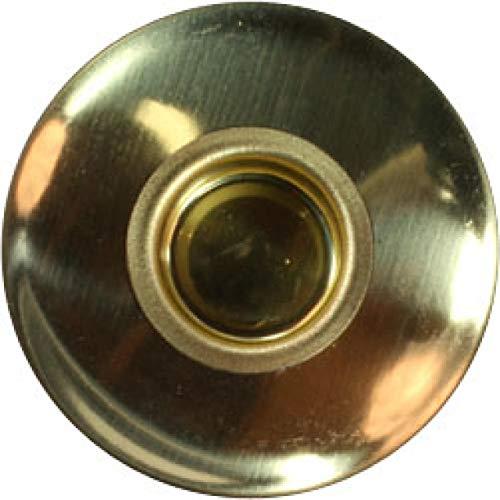 Dregeno - Beccuccio in Ottone + salvagoccia per Candele, 14 mm