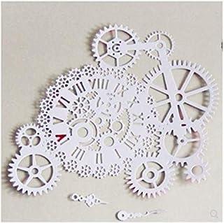 Matrices de d/écoupe Muzhili3 Horloges Time Gear DIY Scrapbooking Matrice de d/écoupe en m/étal Pochoir pour gaufrage artisanal